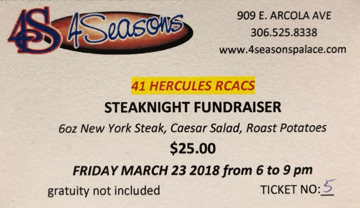 steak night ticket 2018